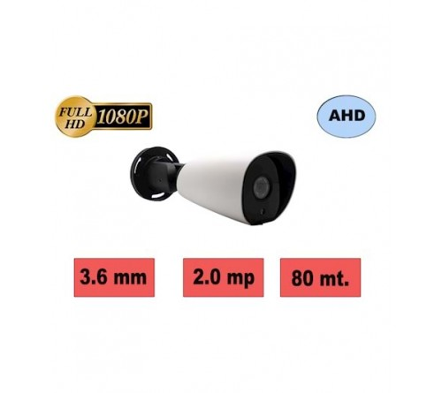 HBF D90-M1 2MP 3.6MM 72 SMART IR LED AHD KAMERA