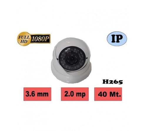 HBF-SPD42 2MP 42 IR LED 3.6MM H265 IP DOME KAMERA