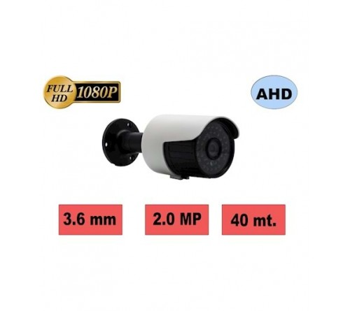 HBF 803-M1 2MP 3.6MM 36 SMART IR LED METAL BULLET KAMERA