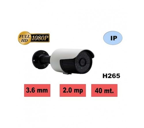 HBF 803 M4IPC 2MP 36 LED 3.6mm H265 IP KAMERA