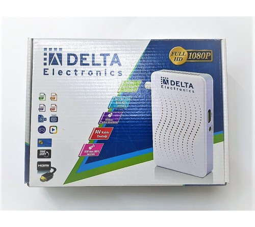 DELTA FULL HD 1080P UYDU ALICISI
