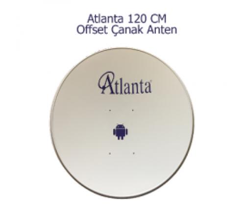 Atlanta 120 CM Çanak Anten Yerli Ürün