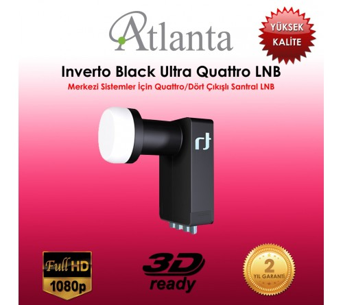 Inverto Black Ultra Quattro LNB