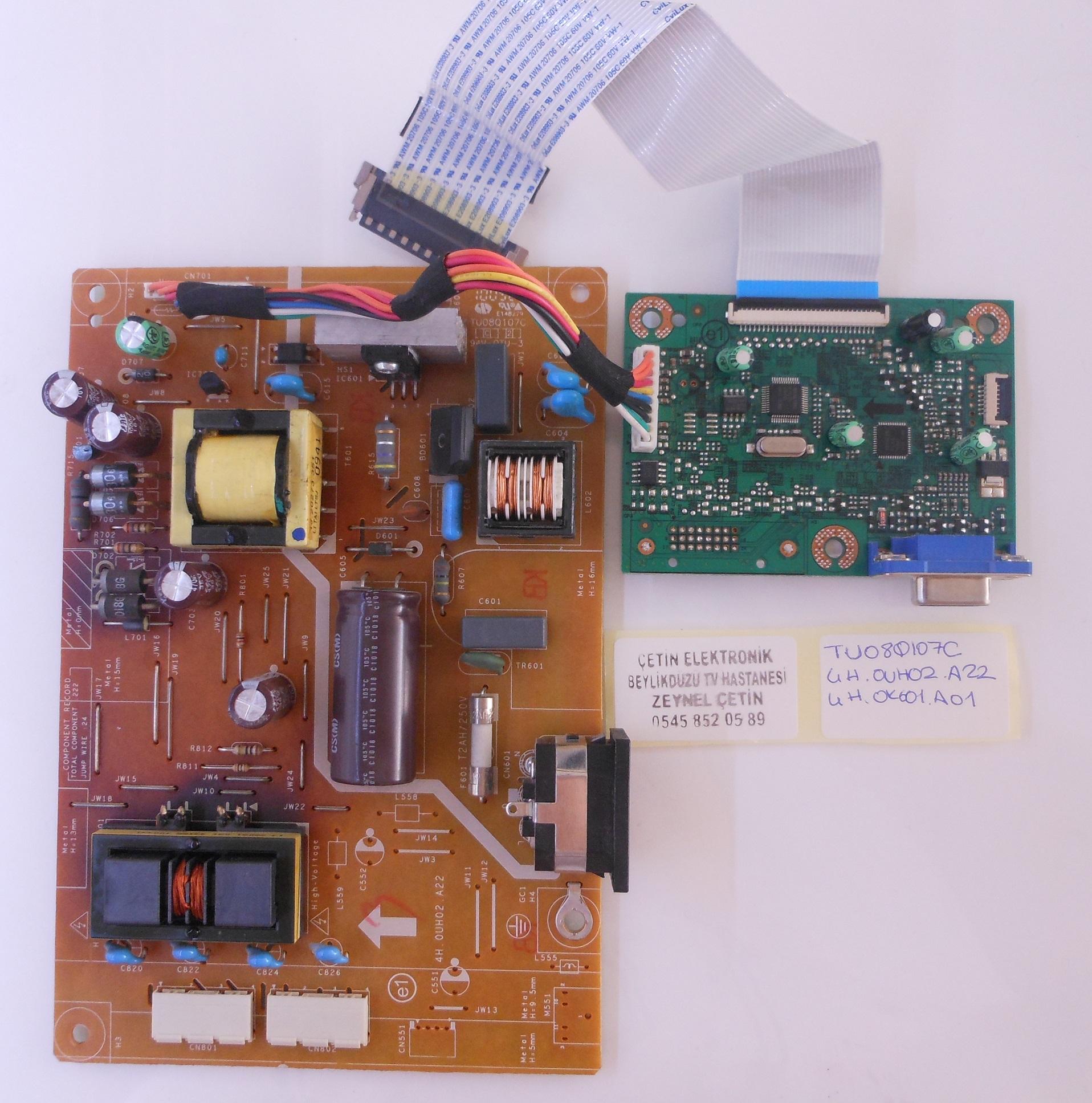 Power Board 17pw26 4 Circuit Diagram 4h0uh02